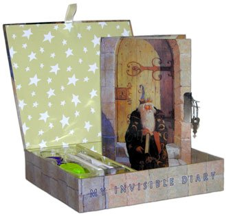 Merlin Invisible Ink Diary by Mazeology - 1
