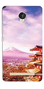 DigiPrints High Quality Printed Designer Soft Silicon Case Cover For Lava X46