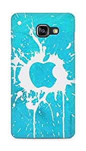 Amez designer printed 3d premium high quality back case cover for Samsung Galaxy A5 (2016 EDITION) (Apple mac blots surface paint)