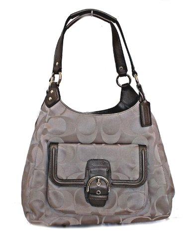 Coach   Coach Campbell Signature Hobo F24742 Tea