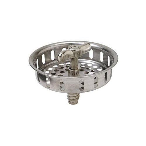 Master Plumber 738-138 MP Replacement Basket Strainer, Stainless Steel