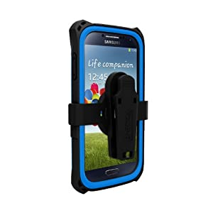 Trident Case AMS-SAM-S4-BLU AMS Kraken Series Protective Case for Samsung Galaxy S4/GT-I9500 - 1 Pack - Retail Packaging - Blue