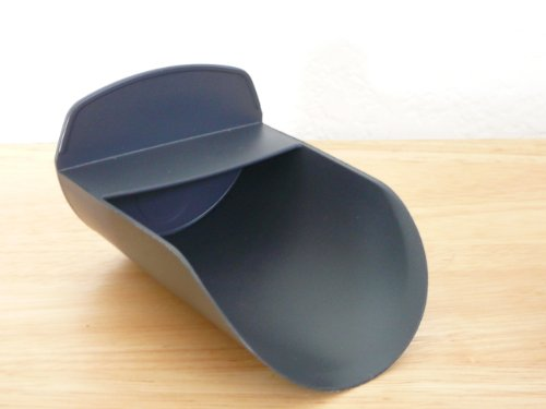 Tupperware Dark Grey Scoop for Canisters