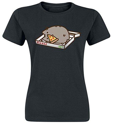 Pusheen Pizza Love Maglia donna nero S