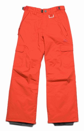 Ripcurl Mondo Boys Snow Pant - Flame Scarlet, Size 10