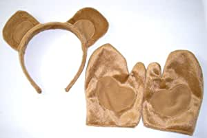 Brown Bear Headband Paws Bears Costume Party Favor