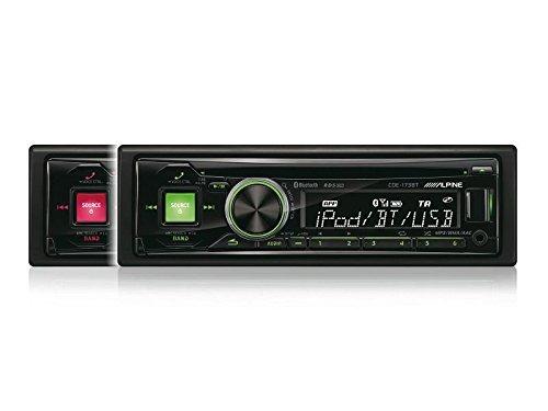 Auto-Radio-Alpine-mit-Bluetooth-USB-AUX-CD-uvm-passend-fr-Audi-A4-B7-Limo-Avant-Cabrio-04-08-8E-06-09-8H
