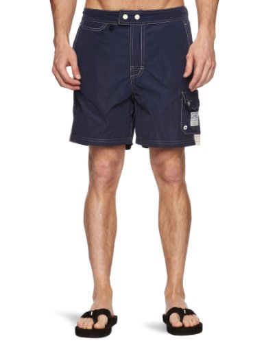 G-Star Basics New Beach Swim Men's Swim Shorts Police Blue XX-Large