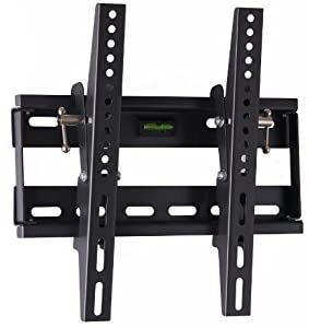 Vonhaus By Designer Habitat Tv Wall Mount Fits All Models Lcd Led Plasma Tv Samsung Sony Philips Toshiba 17 37 5 Super Strength 165lbs Load Capacity With Tilt Mechanism