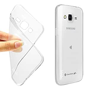Samsung Galaxy J5 Ultra Clear Transparent Flexible Soft Slim Back cover