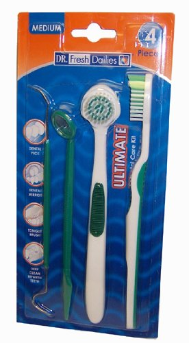 DR. Fresh Dailies Ultimate Dental Kit 4 Pieces