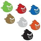 アングリーバード(Angry Birds)シール・ステッカー7種セット