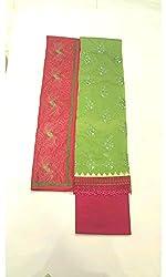 BEAUVILLE VAIIBAVAM Women's Unstiched Salwar Material (BVPCUC_56_Multi_Free Size)