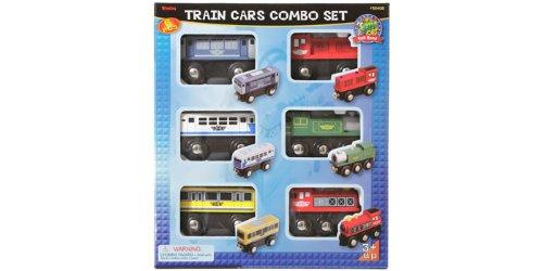 Maxim 6 piece Train Car Combo