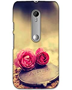 3d Motorola Moto G (3rd Gen) Mobile Cover Case