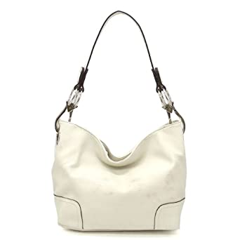 Simple Classic Everyday Hobo/Handbag - Beige