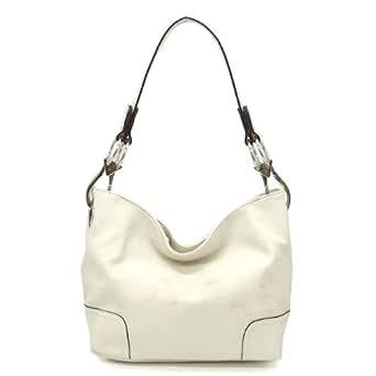 Simple Classic Everyday Hobo/Handbag - Beige
