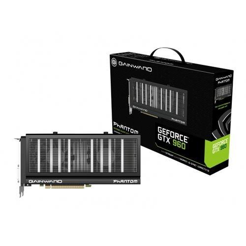 Gainward Phantom Carte graphique Nvidia GeForce GTX 960 1127 MHz 4096 Mo PCI Express