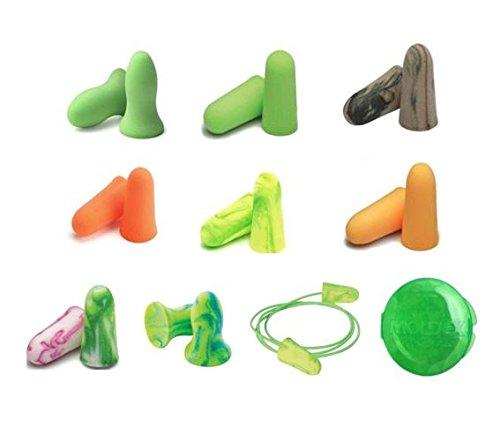 MOLDEX 使い捨て耳栓 お試し9種エコパック 純正ケース付