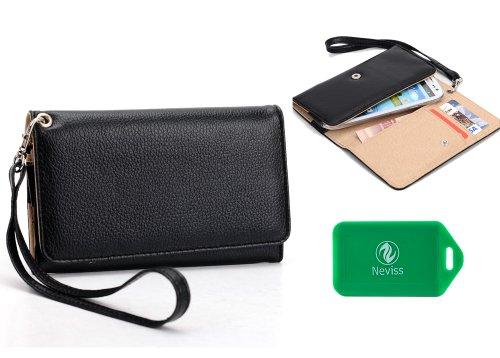T-Mobile Pre-Paid Nokia Lumia 521 4G Smartphone Universal Ladies wristlet wallet Plus bonus Neviss luggage tag