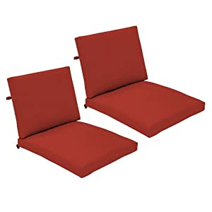 Strathwood Falkner Lounge Deep Seat Arm Chair Cushions, Set of 2 at Sears.com