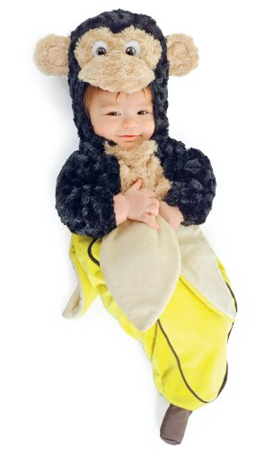 Underwraps Baby's Monkey In A Banana Bunting