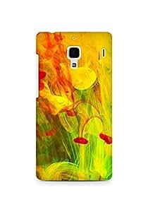Amez designer printed 3d premium high quality back case cover for Xiaomi Redmi 1S (Paint bright blurred)
