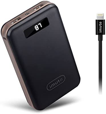 iMuto X4 black IMMF02 20000 mAh Power Bank