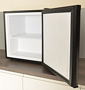 Capital CT40B - 40 Litre Compact Counter Table Top Mini Freezer - Black - Free Next Day Delivery