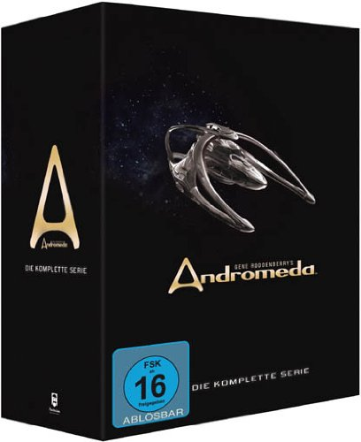 Gene Roddenberry's Andromeda - Komplettbox [30 DVDs]