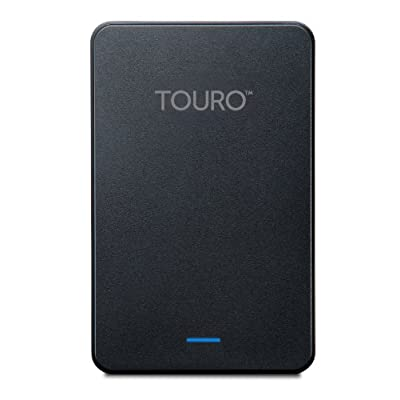 HGST Touro Mobile 1TB USB 3.0 External Hard Drive, Black (HTOLMX3NA10001ABB)