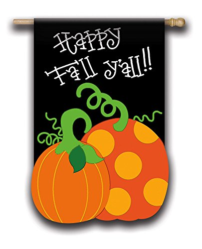 Fall garden flag sign