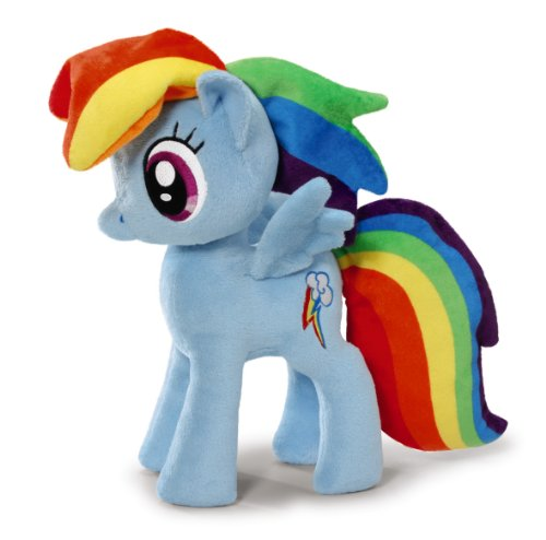 NICI 36219 - My Little Pony , Rainbow Dash 20 cm stehend