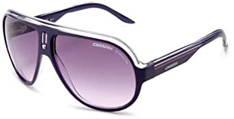 Carrera Speedway Sunglasses - Violet Crystal White Frame, Violet Blue Lenses SPEEDS0KC9TB