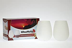 WineMeUp Silicone Wine Glasses