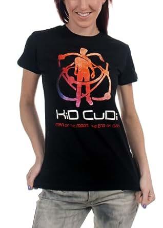 Kid Cudi - Atomic Cudi Girls S/S T-Shirt In Black, X-Large, Black