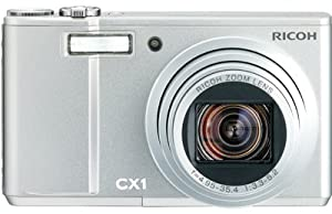 Ricoh CX1 Compact Camera ( 10.29 MP,7 x Optical Zoom,3 -inch LCD )