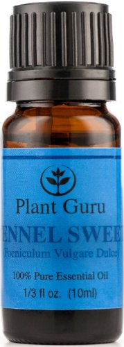 Fennel Sweet Essential Oil. 10 Ml. 100% Pure, Undiluted, Therapeutic Grade.