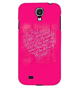 SAMSUNG GALAXY MEGA 6.3 HEART TEXT Back Cover by PRINTSWAG