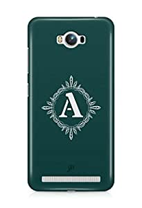 YuBingo Monogram with Beautifully Written letter A Mobile Case Back Cover for Asus Zenfone Max