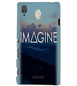 SONY XPERIA T3 IMAGINE Back Cover by PRINTSWAG