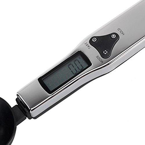 Contever® 500g / 0.1g Cuillère doseuse digitale- Cuisine & Lab Gram électronique Cuillère Balance avec écran LCD