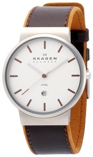 SKAGEN (スカーゲン) 腕時計 basic leather mens 351XLSL ケース幅: 36mm メンズ [正規輸入品]