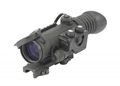 Armasight Vulcan 2.5-5 X 3 Gen 3 High Performance Alpha Mg Night Vision Rifle Scope, Black