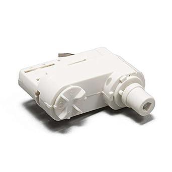 s qazqa suspension adaptateur adaptateur pour rail 3 phases blanc luminaires et eclairage. Black Bedroom Furniture Sets. Home Design Ideas