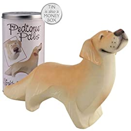My Pedigree Pals Figurine in Money Box Tin - Golden Retriever
