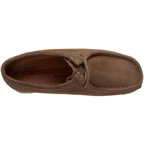 Clarks Originals Women's Wallabee Boot,Taupe,8 M US