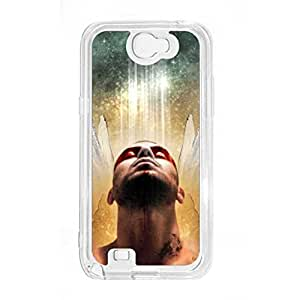 a AND b Designer Printed Mobile Back Cover / Back Case For Samsung Galaxy Note 2 (SG_N2_473)