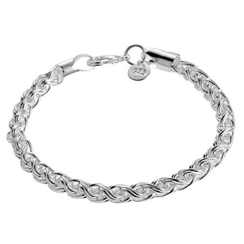 mcitymall New Fashion 925 Silver Bracelet Chain