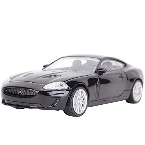 YESURPRISE Modellauto Rastar Spielauto Fernbedienung Auto Car Modell Static Die Cast R/C 1:43 scale Jaguar XKR 41900 black Car Model
